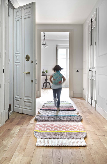Mangas Original Rug Mini Caramelo MM1N Natural 16 by GAN