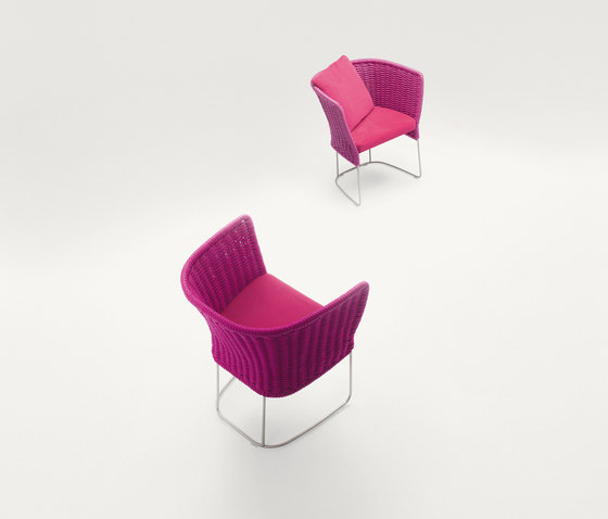Ami Outdoor | Chair von Paola Lenti