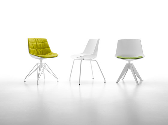 Flow chair* by MDF Italia