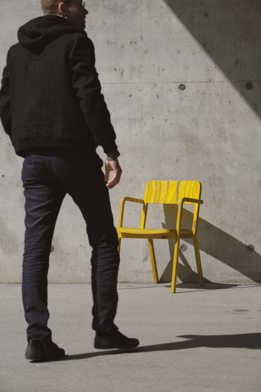 Prater chair di Richard Lampert