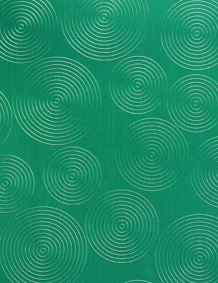 457/800 Alu Brushed Rondo Grass-Green di Homapal