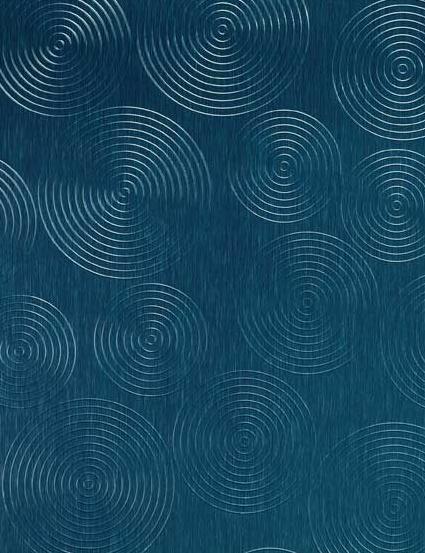 458/800 Alu Brushed Rondo Nachtblau von Homapal