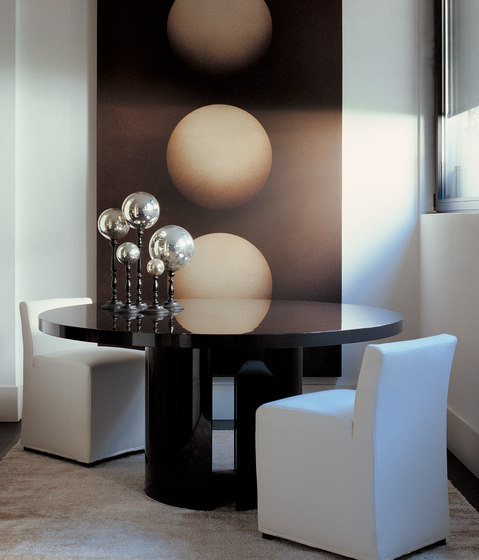 Gong Dining table de Meridiani