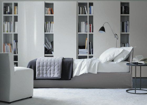 Lana Open Corner Bookcase by Meridiani
