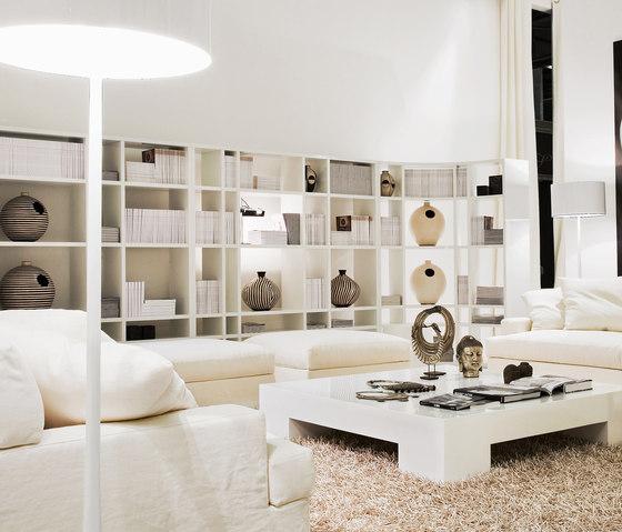 Lana Bookcase by Meridiani