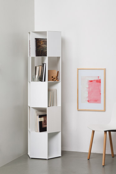 Hexagon bookcase de Quodes