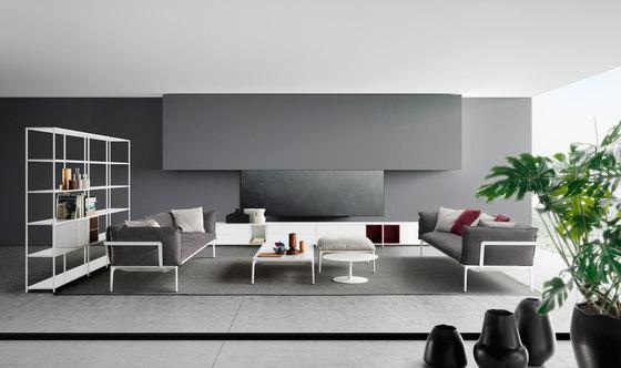 Yale sofa di MDF Italia