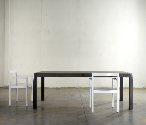 Trapezio table by Bedont