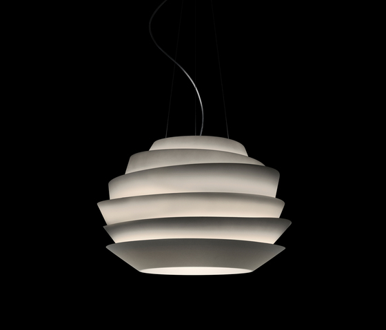 Le Soleil suspension aquamarine by Foscarini