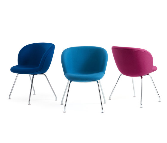 Capri Multi Wood Chair de +Halle