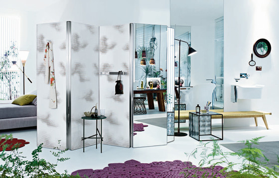 "AXOR Urquiola Partition, Mirror/Pattern ""Clouds"" de AXOR"