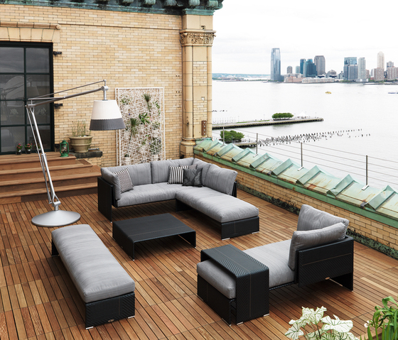 Slim Line Sofa by DEDON