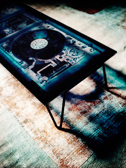 Xraydio Side Table de Diesel by Moroso