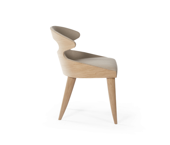 Paddle chair by potocco architonic for Sedia wrap