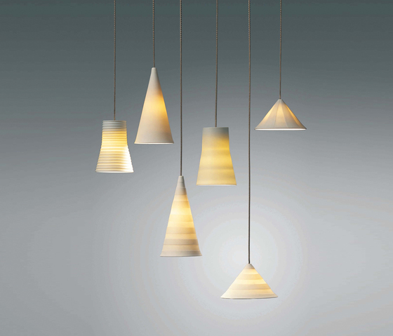 Pyramid Pura Pendant light by STENG LICHT
