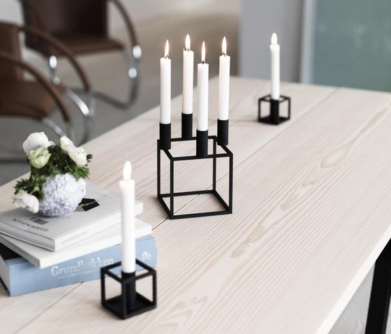 kerzen kerzenst nder zubeh r kubus 1 black by lassen. Black Bedroom Furniture Sets. Home Design Ideas