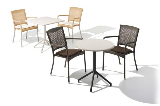 Luton Cafétisch von Cane-line