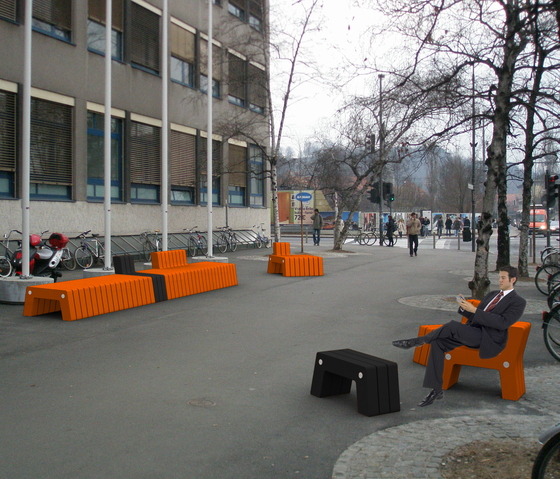 Ljubljana Bench by MOVISI