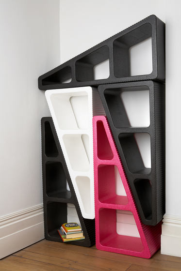 Make/Shift shelving by MOVISI