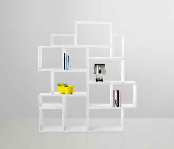 Stacked Shelf System - white* by Muuto