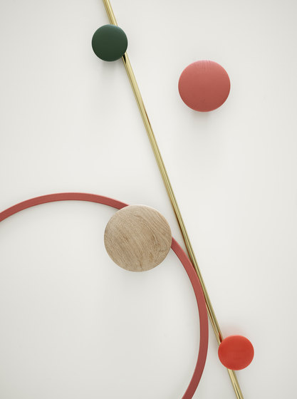 The Dots Coat Hooks | wood de Muuto