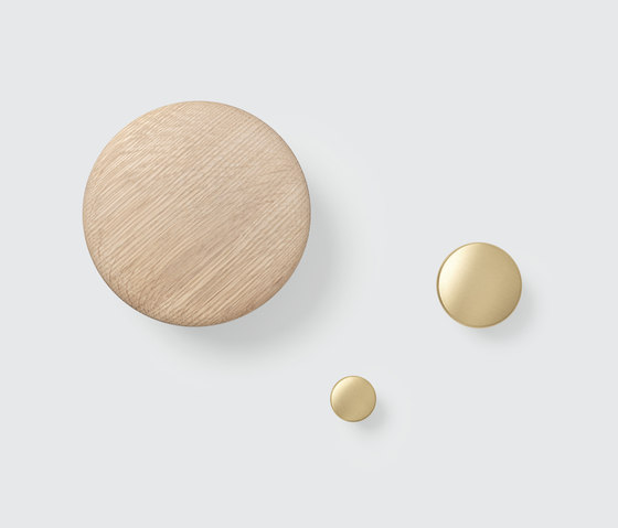 The Dots Coat Hooks | wood by Muuto