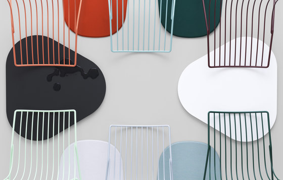 Tio Circular Low Table Laminate by Massproductions