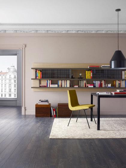 TV | Chair Brilliant Chromed Base by Ligne Roset