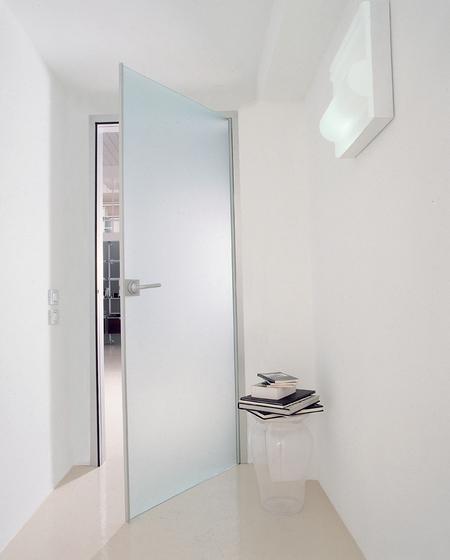 Dot de albed cloison coulissante encastr e for Porte interieure en verre prix