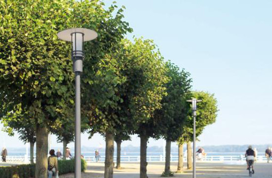 Pole-top luminaire B1810 by BOOM