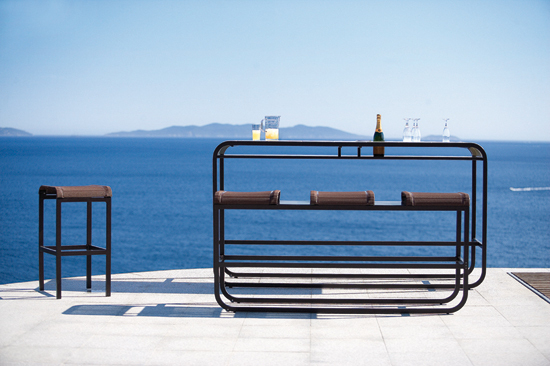 Tandem High Bench & Table by EGO Paris