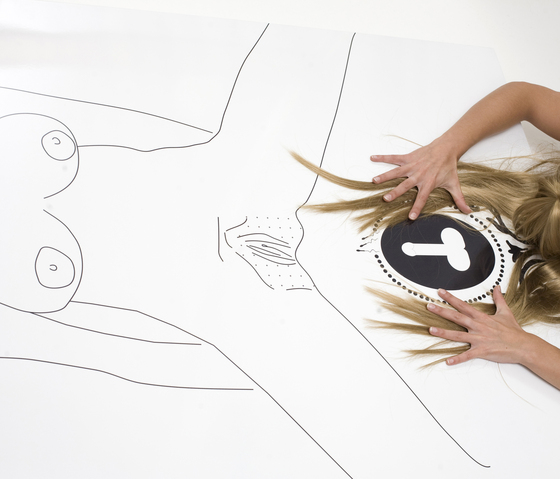 moveable wallpaper nude de Nina Levett