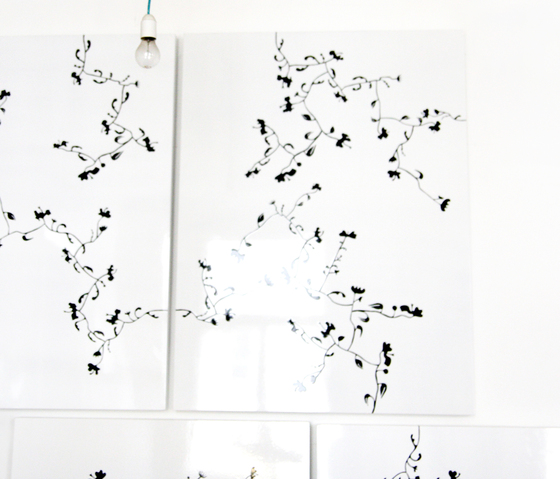 moveable wallpaper flowers 3 di Nina Levett