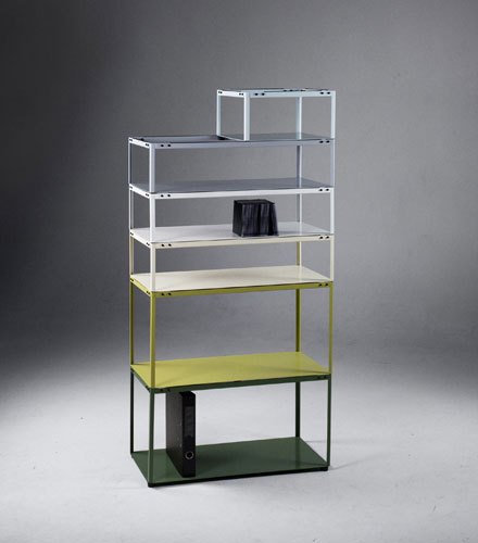 Crate Shelf [prototype] by Martin Born