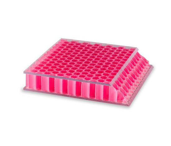 Color pink AIR-board® UV PC clear grain 35 di Design Composite
