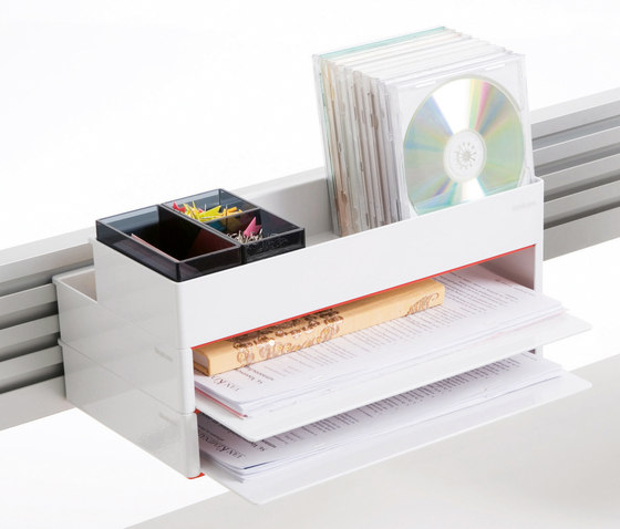 1+1 Organisation Tools Letter Tray by Steelcase