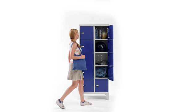 Personal Locker | 10 places personal locker von Dieffebi