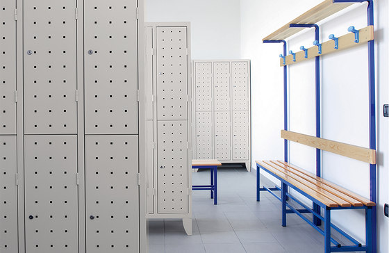 Multiplus Design | 2 Tiers 6 doors locker H1800 von Dieffebi
