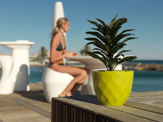 Vases base Lamp di Vondom