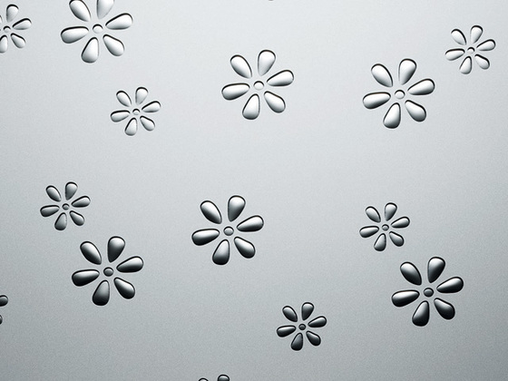Flowers Silver PF m by SIBU DESIGN