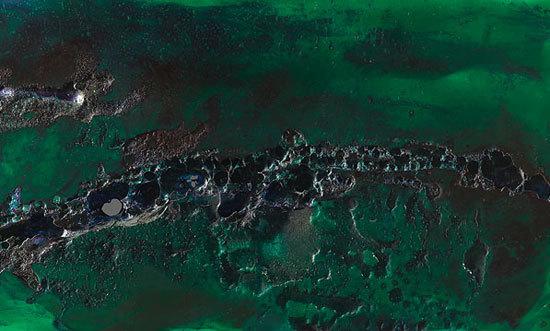Green Space resin wall panel de Teknai® S.r.l.