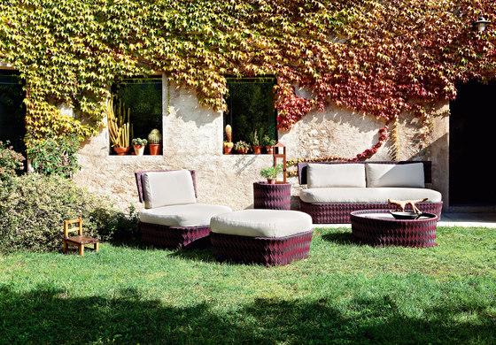 Kente lounge chair by Varaschin