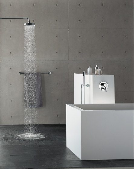 Tara. - Wall-mounted basin mixer by Dornbracht