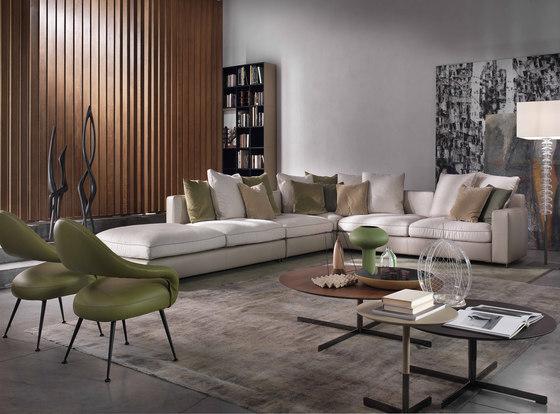 massimosistema modulare sitzelemente von poltrona frau. Black Bedroom Furniture Sets. Home Design Ideas