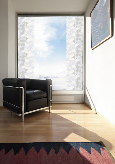 Static cling transparent window film Wood by Hornschuch