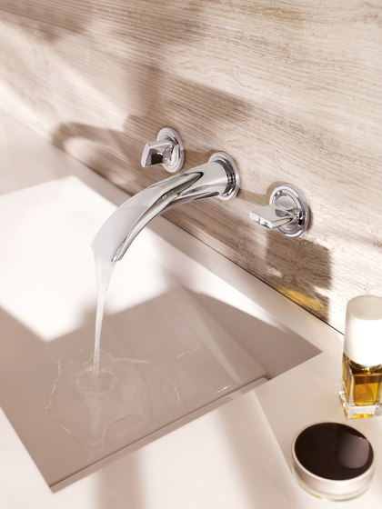 GROHE Ondus Three-hole basin mixer by GROHE