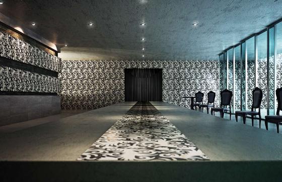 Fenice Inlay 60x60 cm di Decormarmi