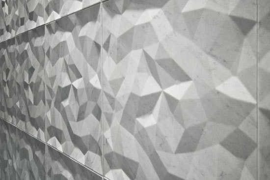 Dune Marmo Nero 60x60 cm di Lithea