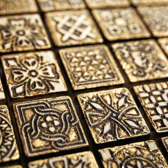 MOS/2,5 Dark Gold 800 Mosaic by Petra Antiqua srl