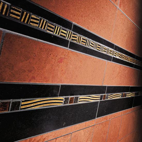 Stripes 4 Mosaic de Petra Antiqua srl